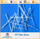 White Black Color PP Curved Fiber 25mm 30mm 48mm 54mm