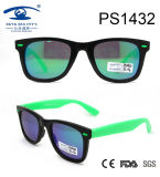 Latest Trends Black Green Fashion Kid Plastic Sunglasses (PS1432)