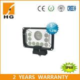 "5"" 42W LED Car High/Low Beam Headlamp Work Light"