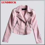 New Arrived PU Jacket for Women Leisure Coat
