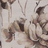 Polyester Project Woven Flower Design Fabric