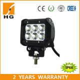 72W LED Light Bar CREE LED 72W Double Row 12inch Bar Lights (HG-8621-72)