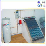 Split Active Heat Pipe Solar Heater System for Home