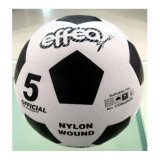 Portable and Roll Rubber Soccer Ball