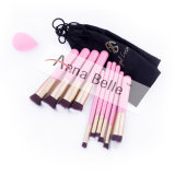 Cheap Wholesale Beauty Pink/Black/White Makeup Brushes