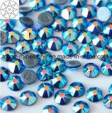 2018 Newest Best Selling Ss16 Capri Blue Ab Hot Fix Rhinestone Glass Crystal Copy Preciosa Stone (HF-ss16 capri blue ab /5A grade)