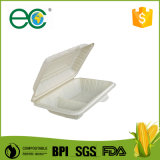 Biodegradable Cornstarch Take out Fast Food One-Shot Disposable Lunch Box/Clamshell