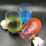 16 Oz Colored Plastic Disposable Stemless Wine Glasses