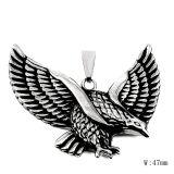 Steel Fashion Accessories Vintage Eagle Men Necklace Pendant