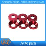 High Precision CNC Colored Aluminum Washers