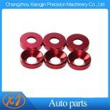 High Precision CNC Colored Aluminum Washers