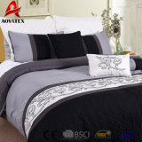 100% Polyester Microfiber Embroidery Solid Printed Bedding Sets