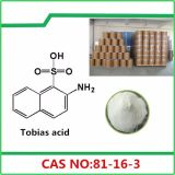 98% Dyestuff Intermediate Tobias Acid 2-Amino-1-Naphthalenesulfonic Acid CAS 81-16-3