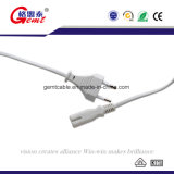 Power Extension Cord 2 Pin H03VV-F Powercord Cable EU 2 Pin Plug Power Cord