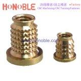 Precision Brass Threaded Insert for Plastic