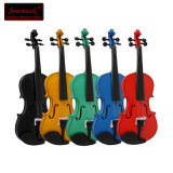 Low Prices Best Brands of Colorful Violins Made in China