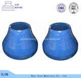 High Quality Sandvik CH430 Cone Crusher Parts Concave and Mantle