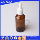 Hot Sale Amber Color Glass Dropper Bottle for Essential Oil