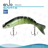 Angler Select Multi Jointed Fishing Life-Like Lure Bass Bait Swimbait Shallow Hard Lure Fishing Gear (MS1415)