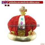 Holiday Gift Christmas Gift Carnival Hat Promotion Decoration (C2103)