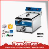 16L Single Tank Stainless Steel Heavy Duty Industrial Gas Electric Deep Fryer