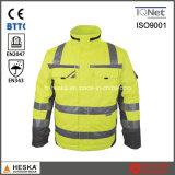 En20471 High Visibility Safety Protective Parka