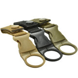 Nylon Webbing Buckle Bottle Backpack Hanger Hook Carabiner Camp Hike Outdoor Hanging Buckle