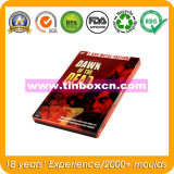Rectangular Metal DVD/CD Case, Rectangle Tin Box