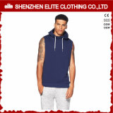 Custom Bodybuilding Gym Men Sleeveless Hoodie (ELTHSJ-1111)