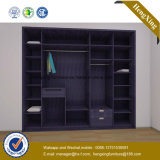 Factory Wholesale Price Bedroom Wooden Wardrobe Closet (HX-LC2099-1)