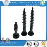 Gypsum Screw Bugle Head Philips Fine Thread Black Phosphate (LJ141208002)