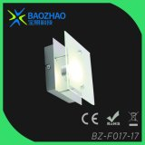 Plating Chrome, SMD LED Wall Lamp. Metal+Glass