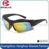 PC Frame Material Safety Sun Glasses for Myopia Sports Eyewear