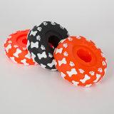 Tyre Shape Dog Vinyl Toy Pet Squeaky Toy