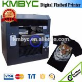 New Model! Flatbed Digital T-Shirt Printing Machine with Customized Design