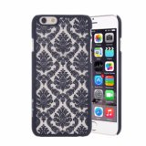 Baroque Court Retro Pattern Texture Plastic Clear Case for LG-G4
