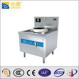 5kw Single Burner Induction Wok Cooker with LED Display for Restaurant Kitchen Equipment