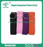 Yoga Straps with D Ring Eco-Friendly Anti-Slip Cotton Yoga Strap