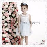 Latest Around Neck Fall Lovely Casual Design for Cute Girl Dress