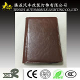 PU Passport Wallet A6 Portfolio Holder Folder with Power Bank