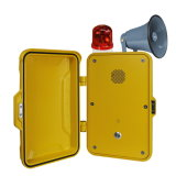 SIP Industrial Telephone VoIP Intercom Telephone Emergency Hand Free IP Phone