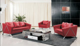 Armrest Living Room Leather Sofa Luxury Furniture Office Classical One Seat