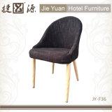 Leisure Metal Wood Grain Restaurant Cafe Chair (JY-F36)
