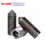 DIN914 Hexagon Socket Set Screws with Cone Point