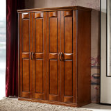 Home Furniture Solid Wooden Bedroom Wardrobe (GSP9-015)
