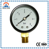 Custom Diaphragm Pressure Gauge Analog Mbar Low Pressure Gauge