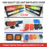 Hot Sale Plastic Cover for LED Light Bar Red/Blue/Amber/Black