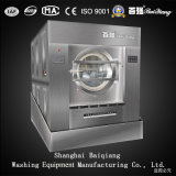 150kg Steam Heating Washing Machine Tilting Unloading Washer Extractor for Laundry Factory