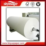 Newly Fu-60GSM 36inch Anti-Curl Jumbo Roll Sublimation Transfer Paper with High Speed Printer