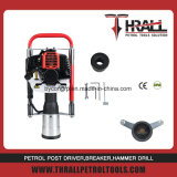 CE 52cc 2 stroke 100mm Petrol Hand Pile Post Driver